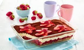 schnelles erdbeer tiramisu