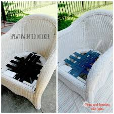 How To Paint Wicker Furniture inside The Most Brilliant and also