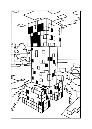 Minecraft Coloring Pages Creeper Download Of Enderman At Page