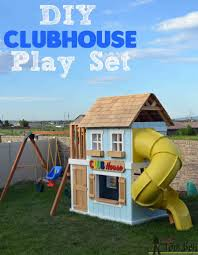 DIY Clubhouse Play Set | Clubhouses, Plays And Tutorials Best Backyard Playground Sets Small Swing For Sale Lawrahetcom Playset Equipment Australia Houston Fun Fortress Playhouse Plan Castle Playhouse Wooden Castle And Plans Playsets Plans For Free Design Ideas Of House Outdoor 6station Heavy Duty Cedar 8 Kids Playsets Parks Playhouses The Home Depot Simple Diy Set All Tim Skyfort Ii Discovery Clubhouse Play Clubhouses Plays Tutorials