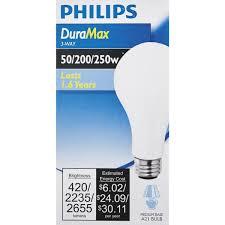 philips duramax a21 3 way light bulb 169490 taylors do it center