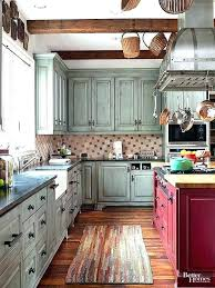 Kitchen Cabinet Rustic Style Ideas Paint Cabinets Look