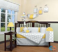 yellow and gray baby nursery neutral baby bedding gender neutral