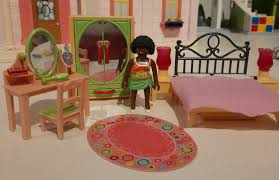 playmobil romantisches puppenhaus schlafzimmer