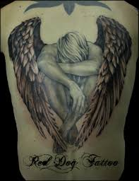 Angel Back Tattoo