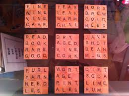 crafty librarian scrabble tile coasters dairy free library