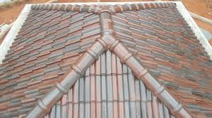 colored concrete roof tiles in kannur kerala pionnier roof tile