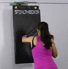 Boxing Heavy Bag Ceiling Mount by First Door Mounted Zero Footprint Punching Bag Brings The