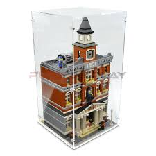 Acrylic Display Case For Lego 10224 Town Hall