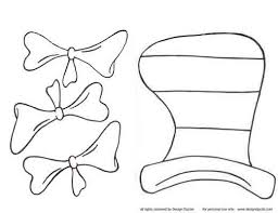 Wondrous Ideas Dr Seuss Hat Coloring Page Cat In The Printables This Pattern Is FREE