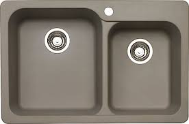 Home Depot Bar Sinks Canada by Blanco Silgranit Top Mount Natural Granite Composite 1 75 Bowl