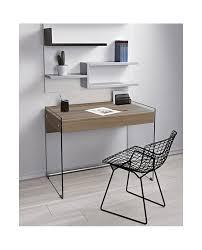 bureau verre trempé bureau en verre trempé avec tiroir alpha