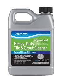 aqua mix heavy duty tile grout cleaner stonetooling