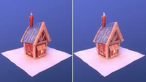 100 House For Sale Elie ArtStation Snowy Village Florian ELIE