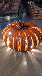 Pinterest Dryer Vent Pumpkins by Pumpkin Made From Canning Jar Lids Thanksgiving Pinterest