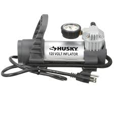 Home Depot Tile Saw Pump by Husky 120 Volt Inflator Hy120 The Home Depot