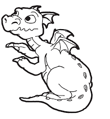 Amazing Dragon Coloring Pages For Kids Colorin 1951