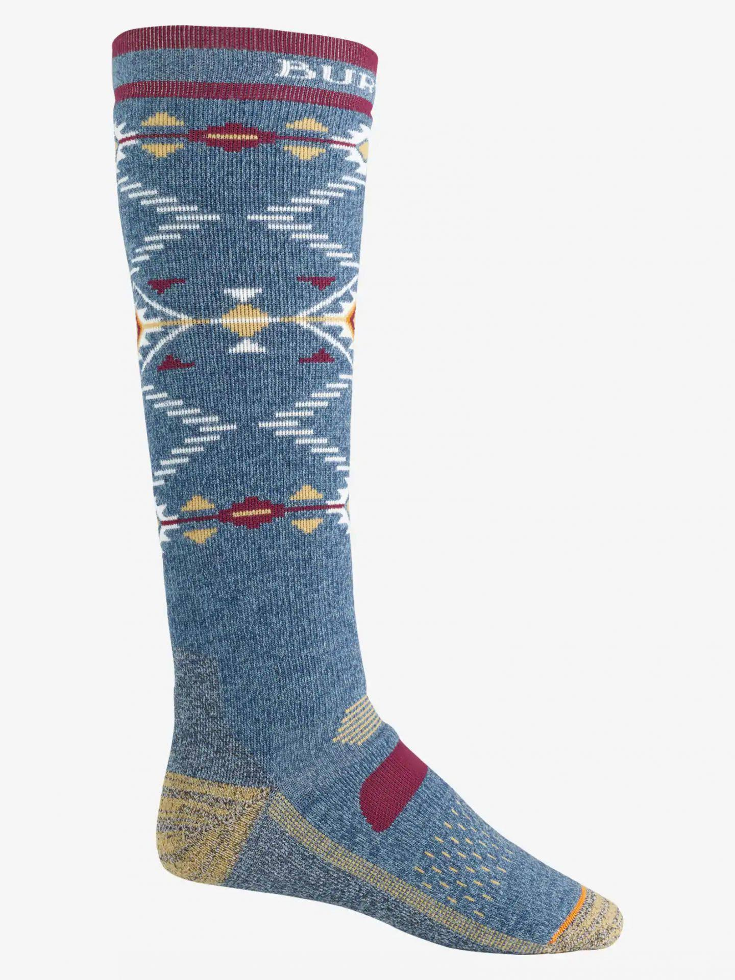 Burton Performance Midweight Sock Men's- Mood Indigo