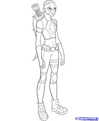 Nightwingandzatanna Young Justice Coloring Pages 11 Kid Flash