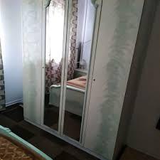 vitrine wohn esszimmer schrank kirschbaum hochglan