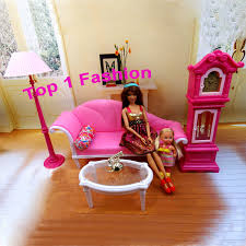 Barbie Living Room Playset by New Arrival Birthday Gift Play House Doll For Children Live Room