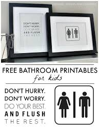 Free Bathroom Printables Art For The BathroomQuotes