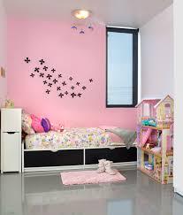 Simple Wall Designs In Pink Bedroom
