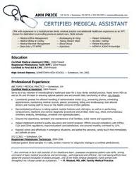 This Resume Can Be Used For A Student Medical Assistant Who Has Not Cakepins