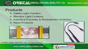 Omron Sti Light Curtains by Light Curtains By Orbital System Bom Pvt Ltd Nashik Youtube