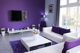 purple living room home design ideas