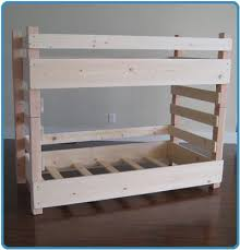 Easy Cheap Loft Bed Plans by Top 25 Best Toddler Bunk Beds Ideas On Pinterest Bunk Bed Crib