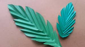 How To Make Fun Paper Leaves