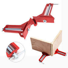Woodworking Hand Kit 90Degree Right Angle Picture Frame Corner Clamp Holder Hot