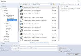 Latest Microsoft fice Developer Tools for Visual Studio 2015