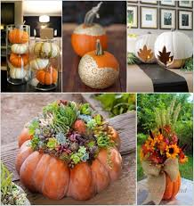 Gold Pumpkin Carriage Centerpiece by 10 Creative Ways To Craft Pumpkin Centerpieces This Fall