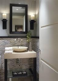 half bath tile glamorous half bathroom ideas bathrooms remodeling