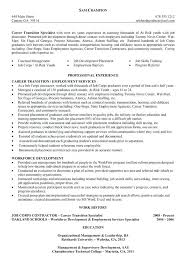 Resume Examples For Career Change Functional Profile