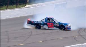 Stewart Friesen Spins, Makes Masterful Save At Pocono | Official ...