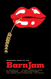 Barn Jam Wed March 29 6pm | Gil Shuler Graphic Design Barn Jam Wed July 13 6pm Gil Shuler Graphic Design Jan 24 Feb 8 Apr 27 Aug 3 Barnjam2310 The Big Red Barn Jam April 19 Jan18 Oct At Awendaw Swee Outpost Charleston Events Pinterest David Gilmour Richard Wright Youtube