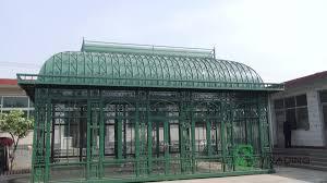100 Cast Of Glass House Prefab Wrought Iron Garden Buy