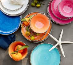 Unbreakable Outdoor Living - Pottery Barn Ding Beautiful Colors And Finishes Of Stoneware Dishes 2017 Best 25 Outdoor Dinnerware Ideas On Pinterest Industrial Entertaing Area The Sunny Side Up Blog Dinnerware Yellow Create My Event Drinkware Rustic Plate Plates And 11 Melamine Cozy Table Settings Stress Free Plum Design Red Platters Serving Tiered Pottery Barn