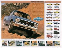 100 Chevy Trucks For Sale In California Car Brochures 1982 Chevrolet And GMC Truck Brochures 1982