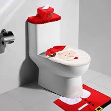 kranich weihnachten badezimmer toilettensitzbezug