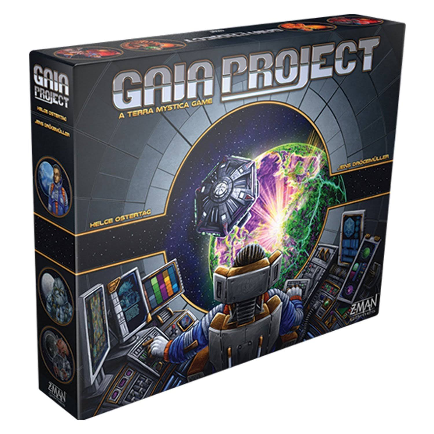 Z-Man Gaia Project a Terra Mystica Game