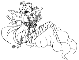 Winx Club Coloring Pages And Book