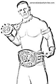 20 Wwe Coloring Pages Printable