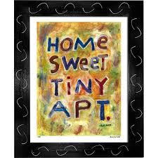 Tiny Apartment Art Print By Dug Nap