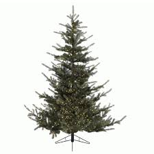 6ft Artificial Christmas Tree Pre Lit by Kaemingk Omorika Fir Pre Lit 7ft 2 1m Artificial Christmas Tree