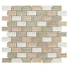 Jeffrey Court Mosaic Tile by Jeffrey Court Crossroads Pale Limestone
