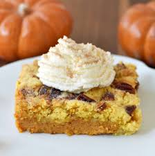 Pumpkin Pie With Pecan Praline Topping by Pumpkin Praline Butter Dump Cake Modern Honey